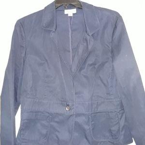 Comme Des Garcons Vintage 80s Blazer Vest Jacket Beige Wool Made in Japan